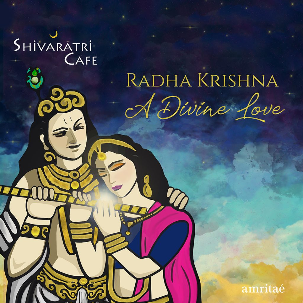 Amritae illustration Shivaratri Cafe Radha Krishna